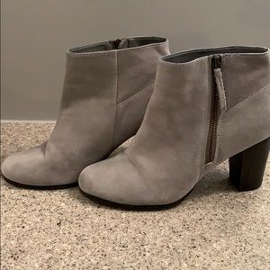 Cole Haan ankle booties.
